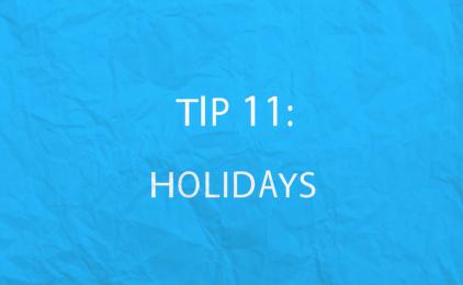 MiniVid 11: Holidays